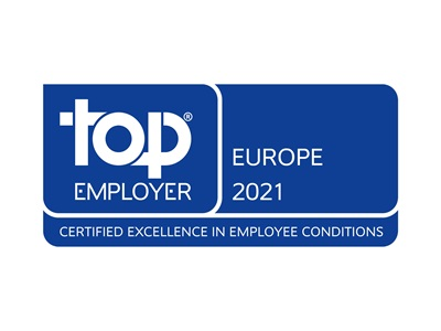 Top employer europe 2021