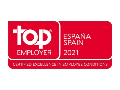 Top Employer 2021 Spain