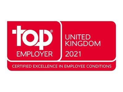 Top Employer 2021 UK