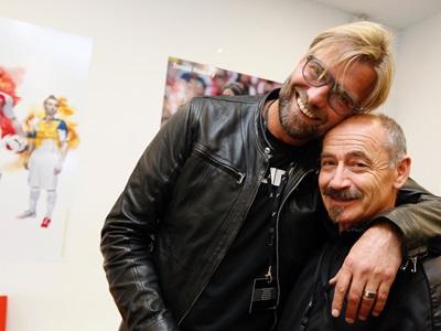 Helmut Fischer und Jürgen Klopp