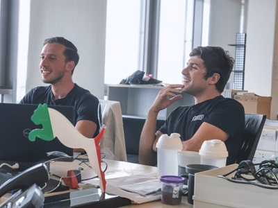 PUMA employees in the office