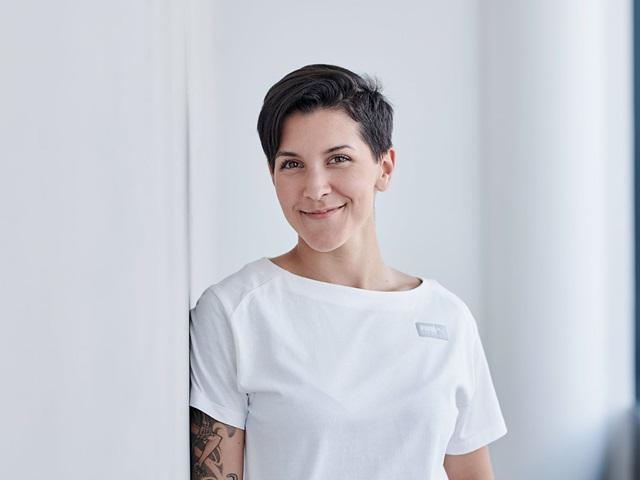 PUMA Mitarbeiterin Hanna Lin Schaffrath