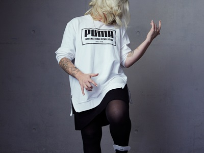 PUMA Managerin Stefanie Perl