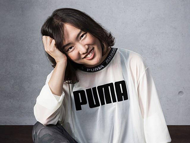 PUMA Managerin Cathy Hur in PUMA