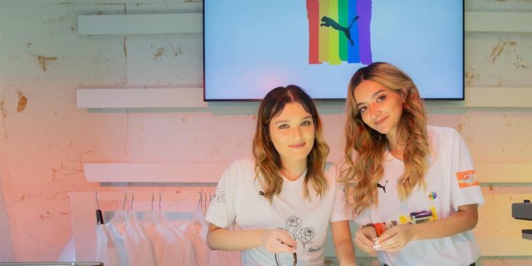 Zwei Mitarbeiterinnen im PUMA Store