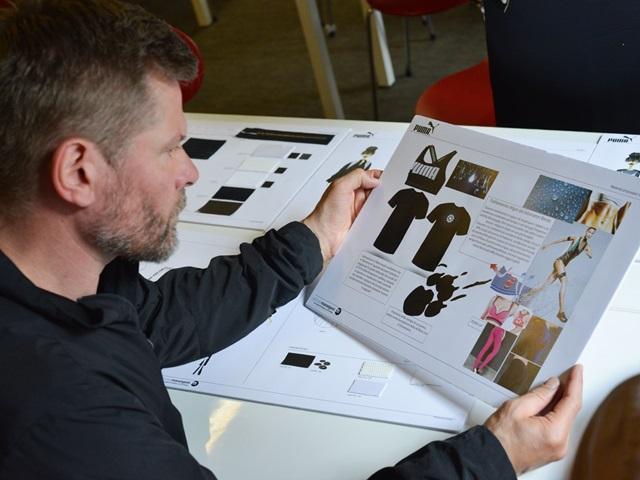 Global Creative Director Torsten at work