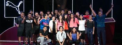 Team in Indien