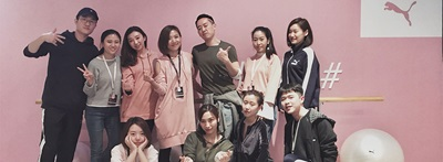 PUMA employees China