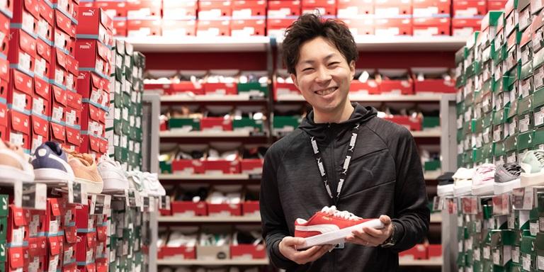 PUMA Mitarbeiter im Store