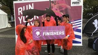 PUMA run in Japan