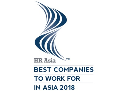 Auszeichnung Best companies to work for in ASIA 2018