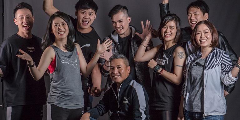 PUMA Taiwan - Gruppenbild Mitarbeiter