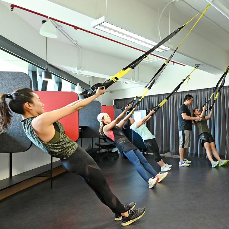 Hongkong Gym Area