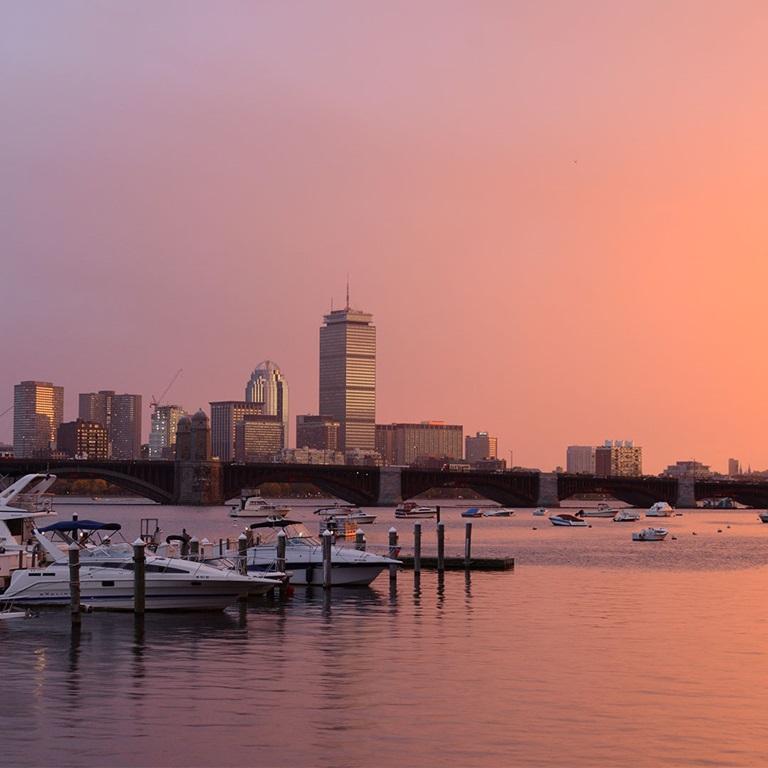 PUMA Boston skyline