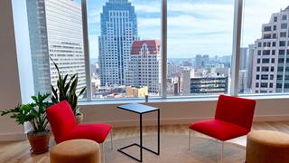 PUMA Boston office view