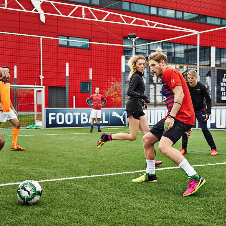soccer at PUMA