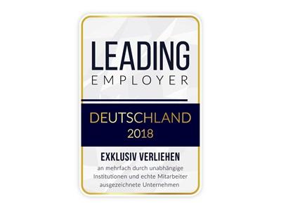 leading employer Deutschland 2018