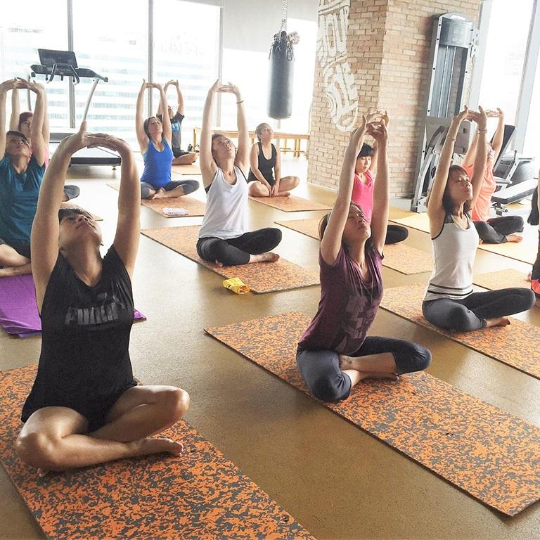 Yoga bei PUMA