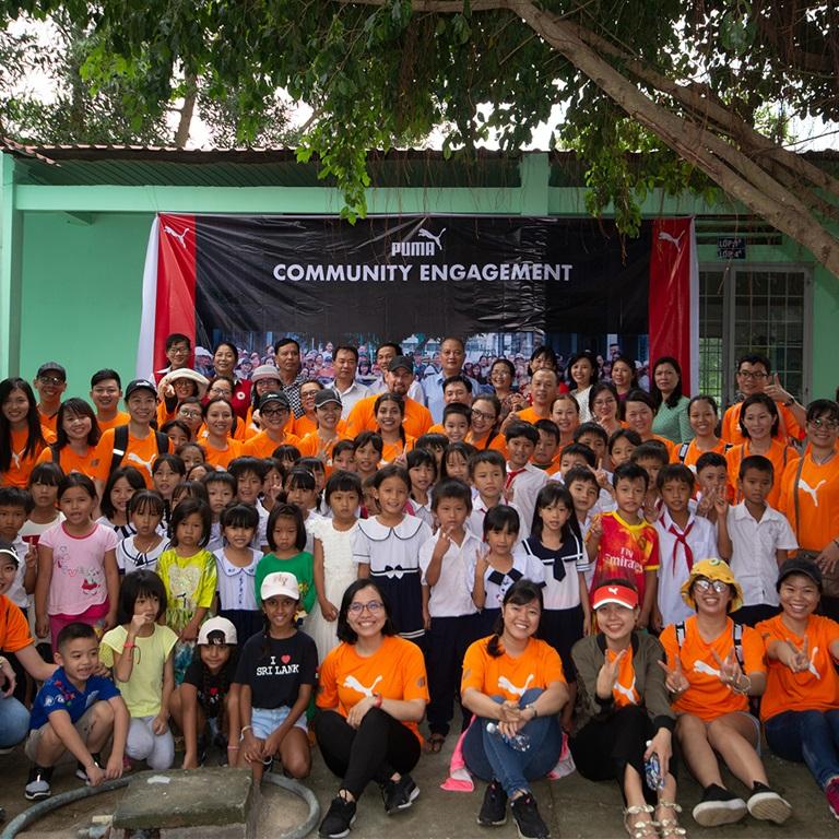 Engagement der PUMA Vietnam-Gemeinschaft
