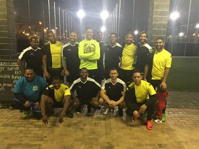 PUMA Fußballmannschaft