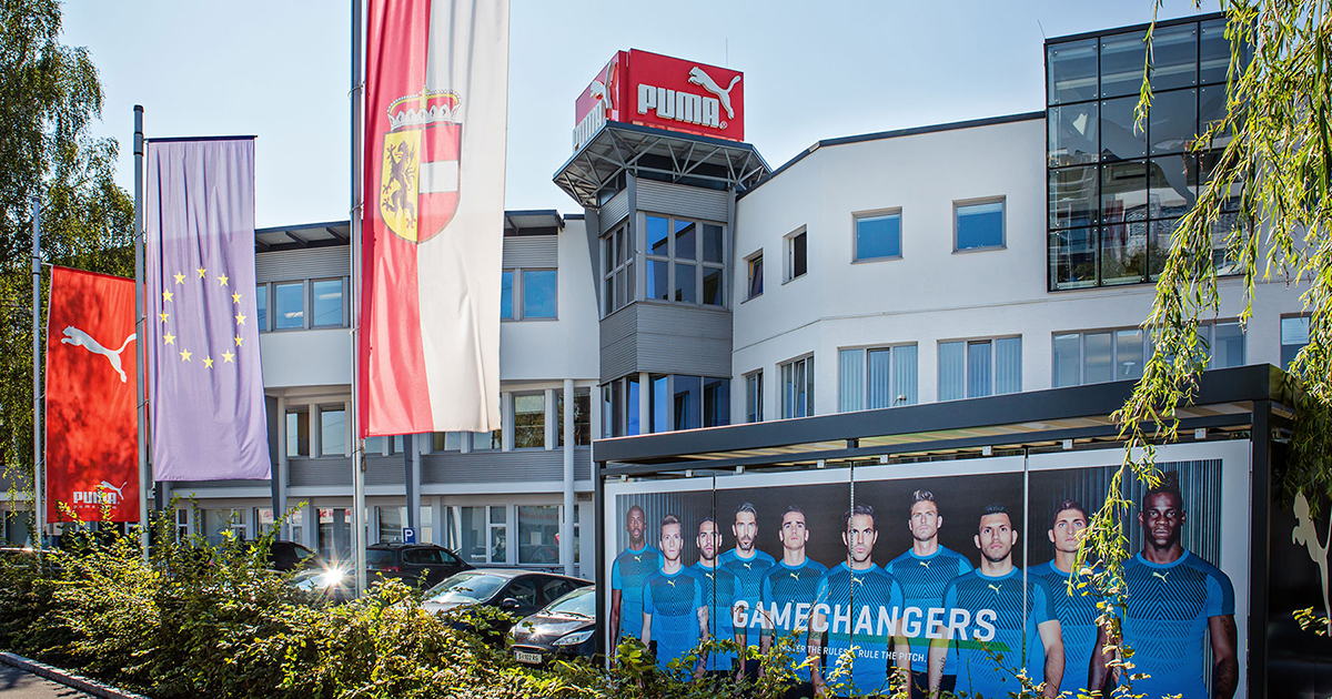 PUMA® - Austria office located in Salzburg