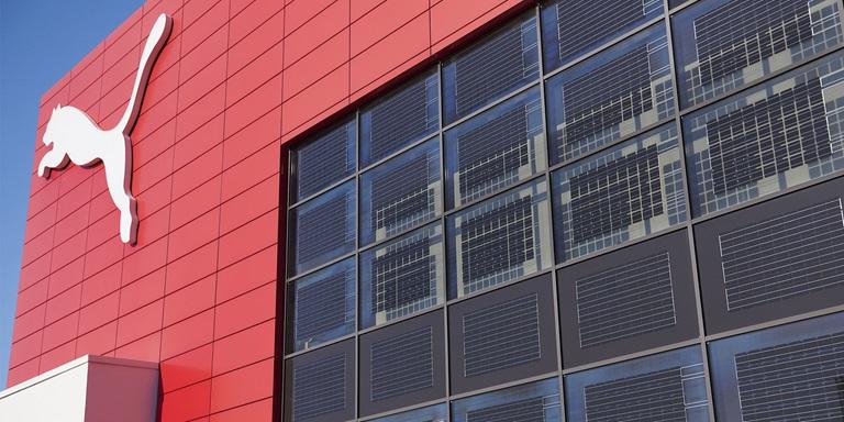 Solar Panels at the PUMA Headquarters