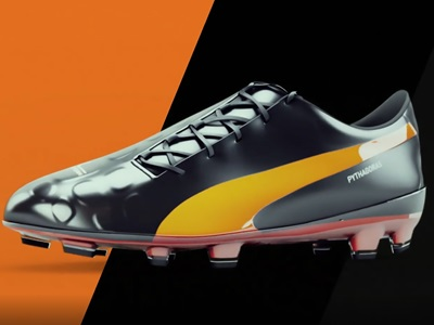 PUMA's Evolocity Football Boot