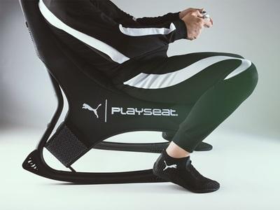 PUMA Active Gaming Seat and Footwear