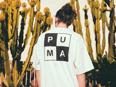 T-Shirt from PUMA's and Mike Cherman's collection