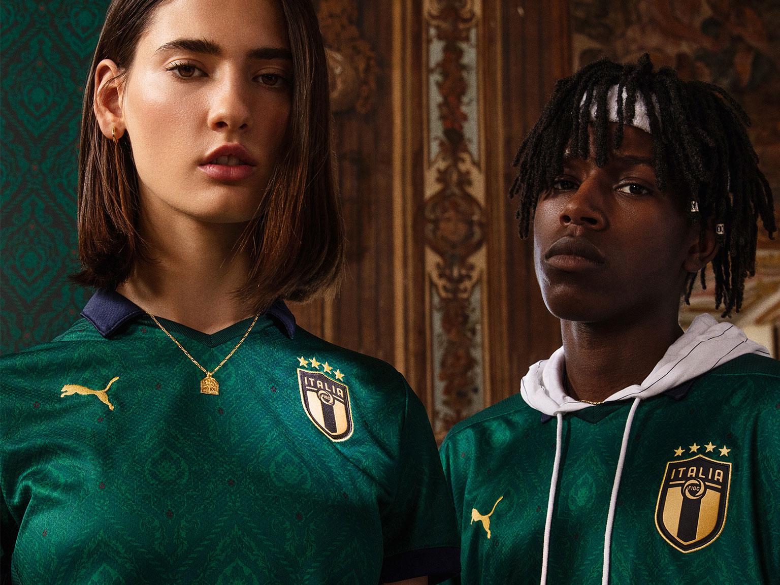 PUMA® - Italy Renaissance Kit celebrates a new wave of azurri talent