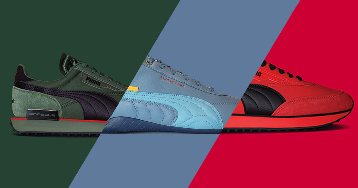 PUMA® - Icons of Fast: PUMA and Porsche unveil a collection of ...