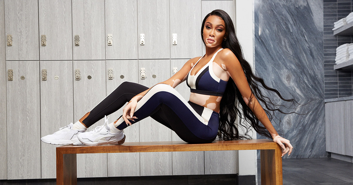 PUMA® - WINNIE HARLOW GOES LUXE WITH PUMA'S TRAINING COLLECTION