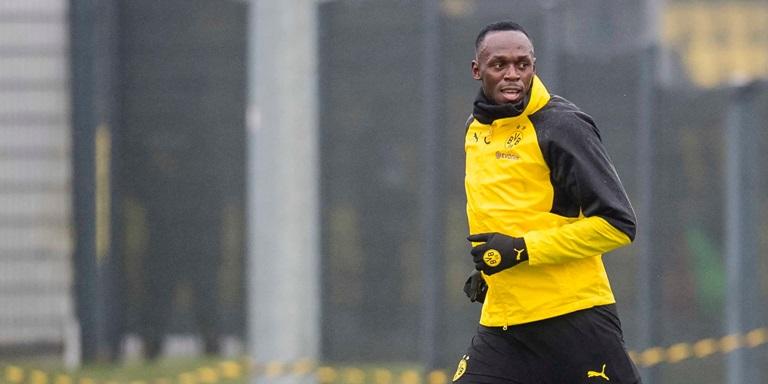 Usain Bolt Borussia Dortmund