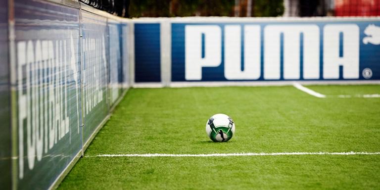 Fußballfeld bei den PUMA Headquarters