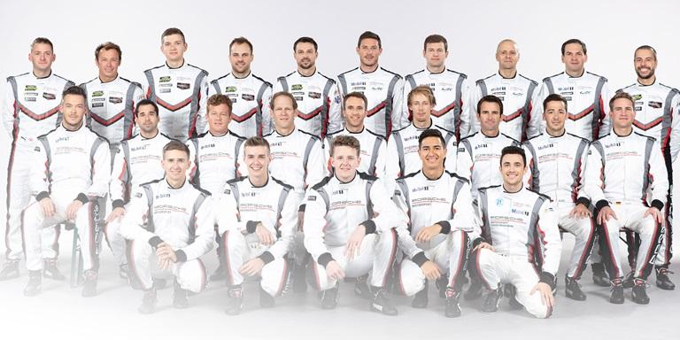 Porsche Werksfahrer