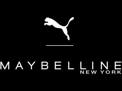 PUMA und Maybelline New York Logo