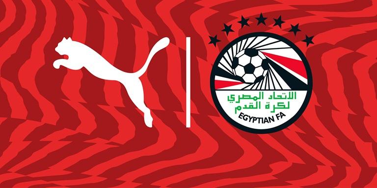 PUMA und Ägyptischer Fußballverband Logos