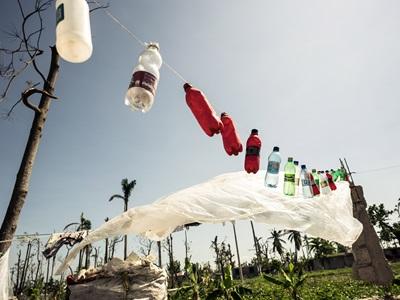 Plastic Bottles in Haiti