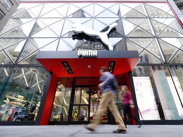 PUMA Store auf der Fifth Avenue in New York City