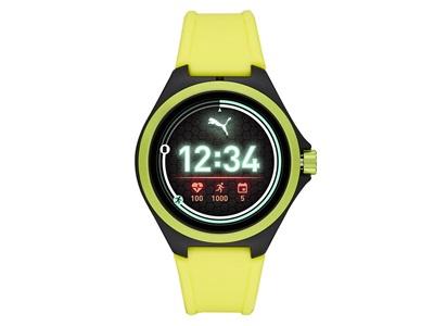 PUMA Smartwatch in yellow