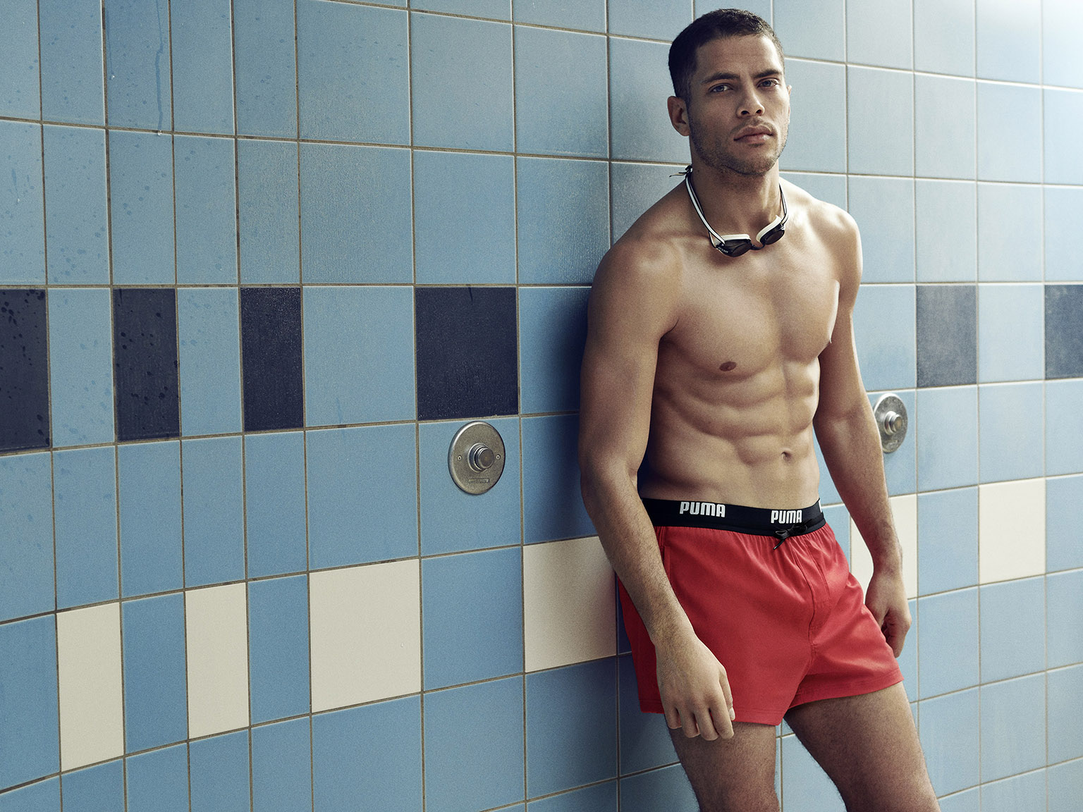 PUMA® - PUMA returns to the pool with new swimwear collection