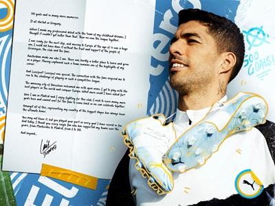 Luis Suarez Letter to fans