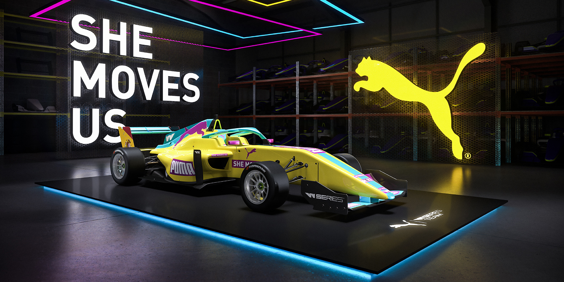 PUMA® - PUMA enhances engagement in female racing by announcing ...