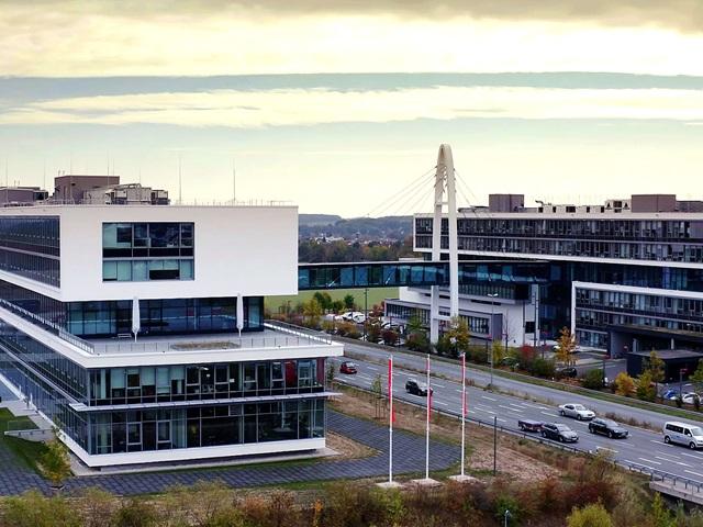 PUMA Unternehmenszentrale von Oben