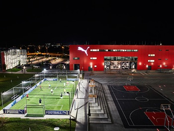 PUMA Store and Cageball field
