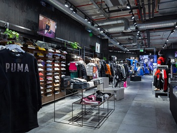 PUMA products in store