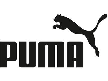 PUMA Logo springende Katze mit Schriftzug