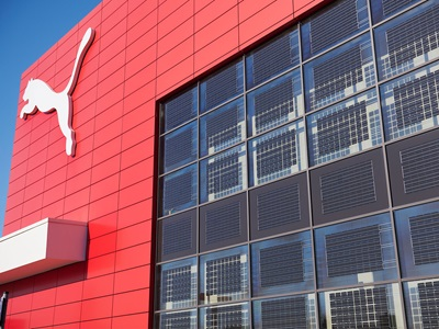 Solar panels at PUMA Headquarter