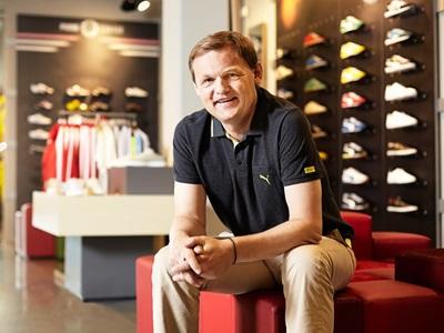 PUMA CEO Bjørn Gulden