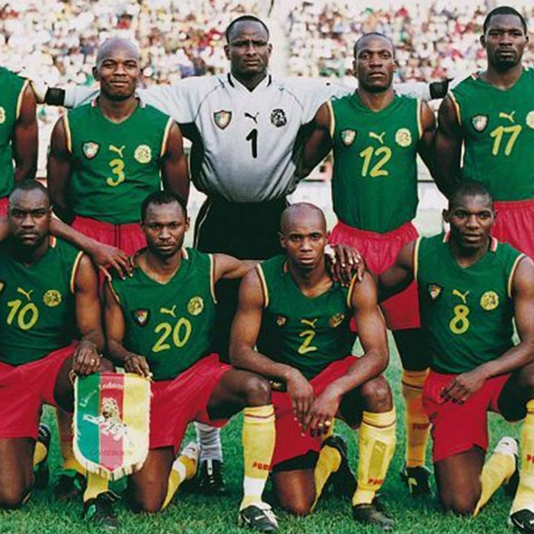 Cameroon team soccer